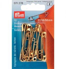Prym Prym - veiligheidsspelden messing 27/38/50mm - 071 278