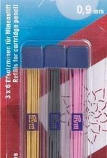 Prym Prym - vervangstiften voor vulpotloden extra fijn 0.9mm - 610 842