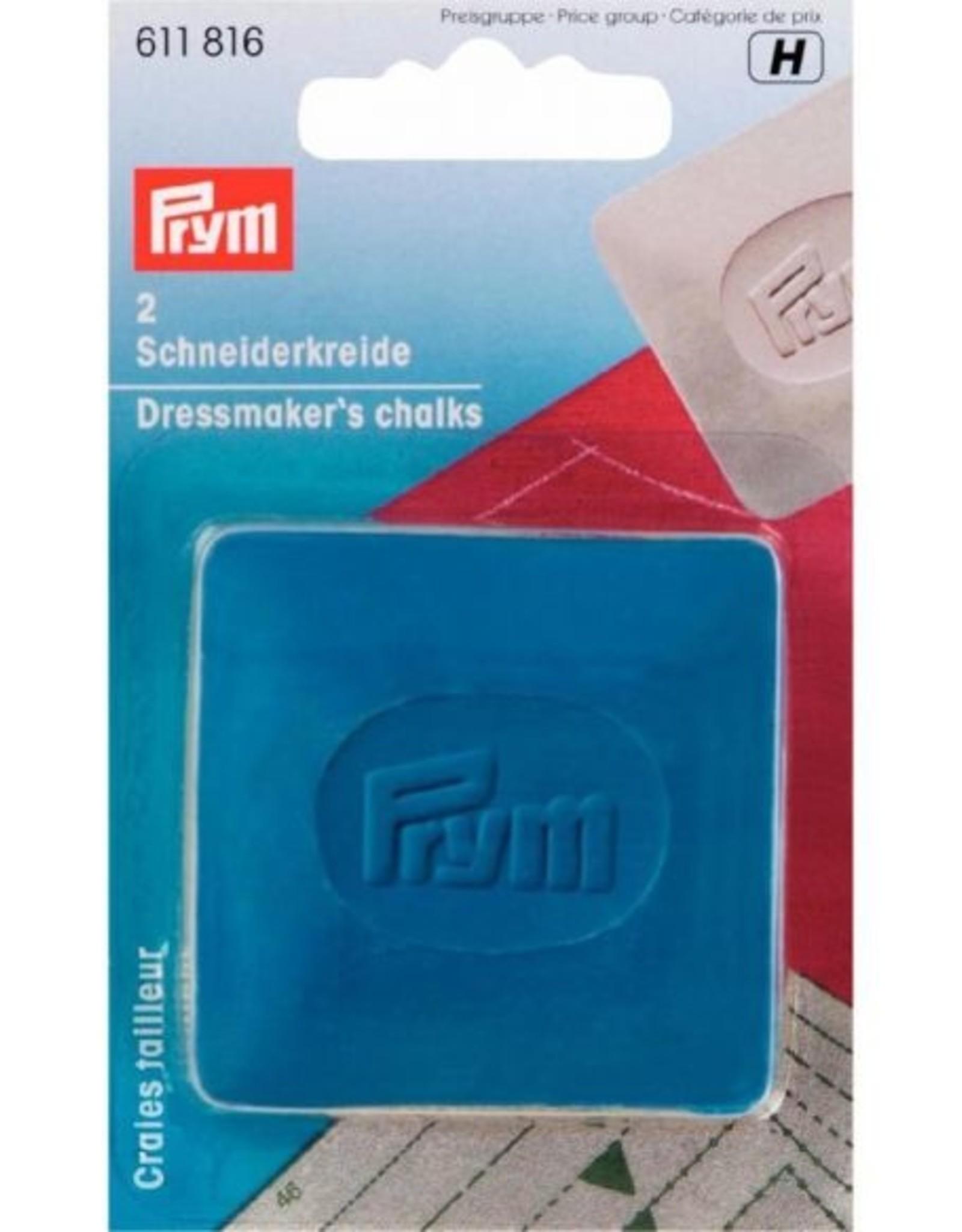Prym Prym - kleermakerskrijt blauw en geel - 611 816