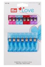 Prym Prym - Love stof clips 8 x 2.6cm / 7x 5.5cm - 610 182