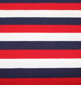 Hilco Coupon 1.30x1.45m Akiko gestreept tricot
