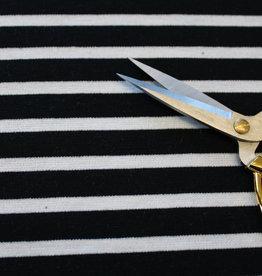 punta di roma stripe zwart/wit