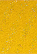 Rico Design jogging mustard metallic bubbles