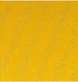 Rico Design jogging mustard metallic bubbles