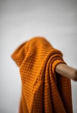 Mind the Maker Viscose waffle knit rust