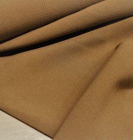 A La Ville Haute Couture COUPON  piqué crepe zand 80x145cm