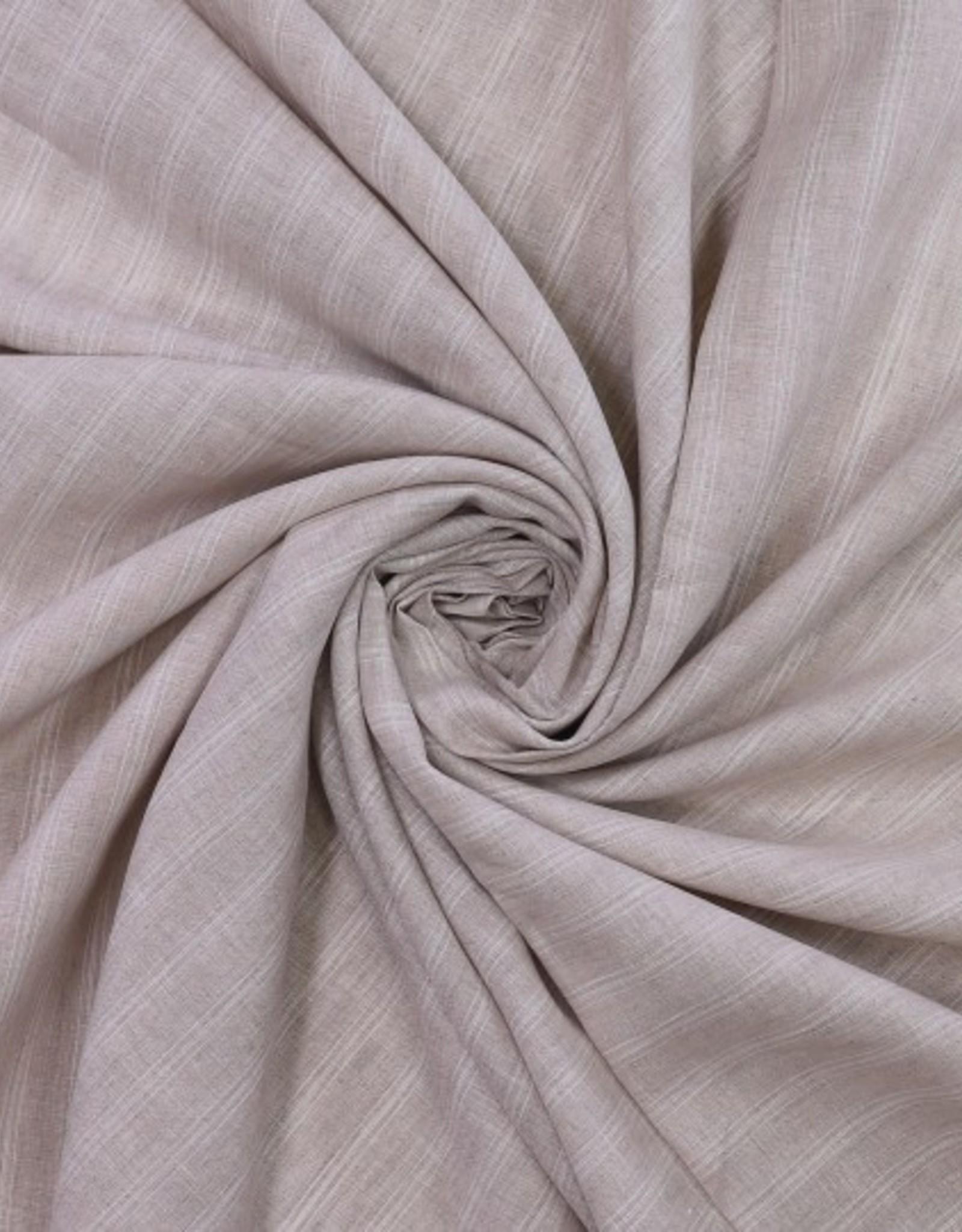 linnen naturel streep wit