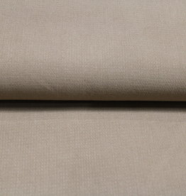 COUPON stretch linnen ramie creme 110x130cm