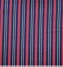 Sarah satin winter stripe