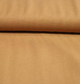 A La Ville Haute Couture coupon 60x140cm viscosecrepe donker oker - camel