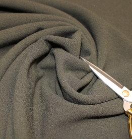 A La Ville Haute Couture COUPON  crepe licht kaki 65x150cm