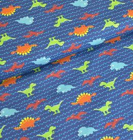 Hilco Big dreams dino blauwe tricot