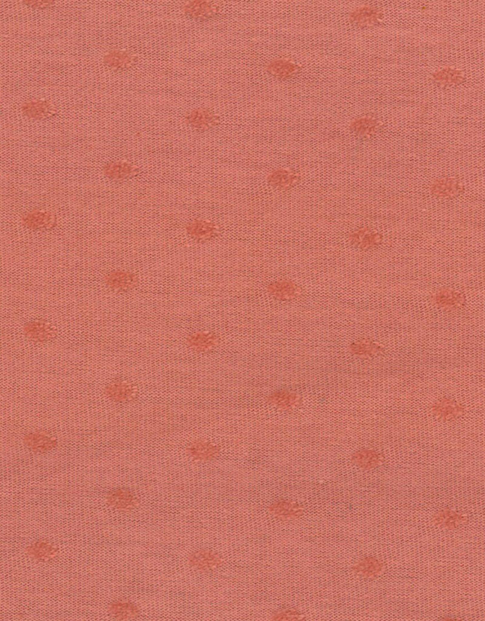 Domotex COUPON Jersey dots marsala 75x150cm