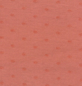 Domotex COUPON Jersey dots marsala 75x150cm