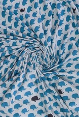 Mies&Moos Seafriends whale blauw tricot