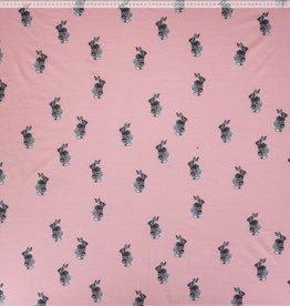 Ilja Rabbit roze tricot