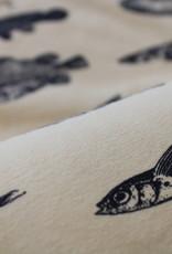 Mies&Moos Strange fish lichtgele tricot