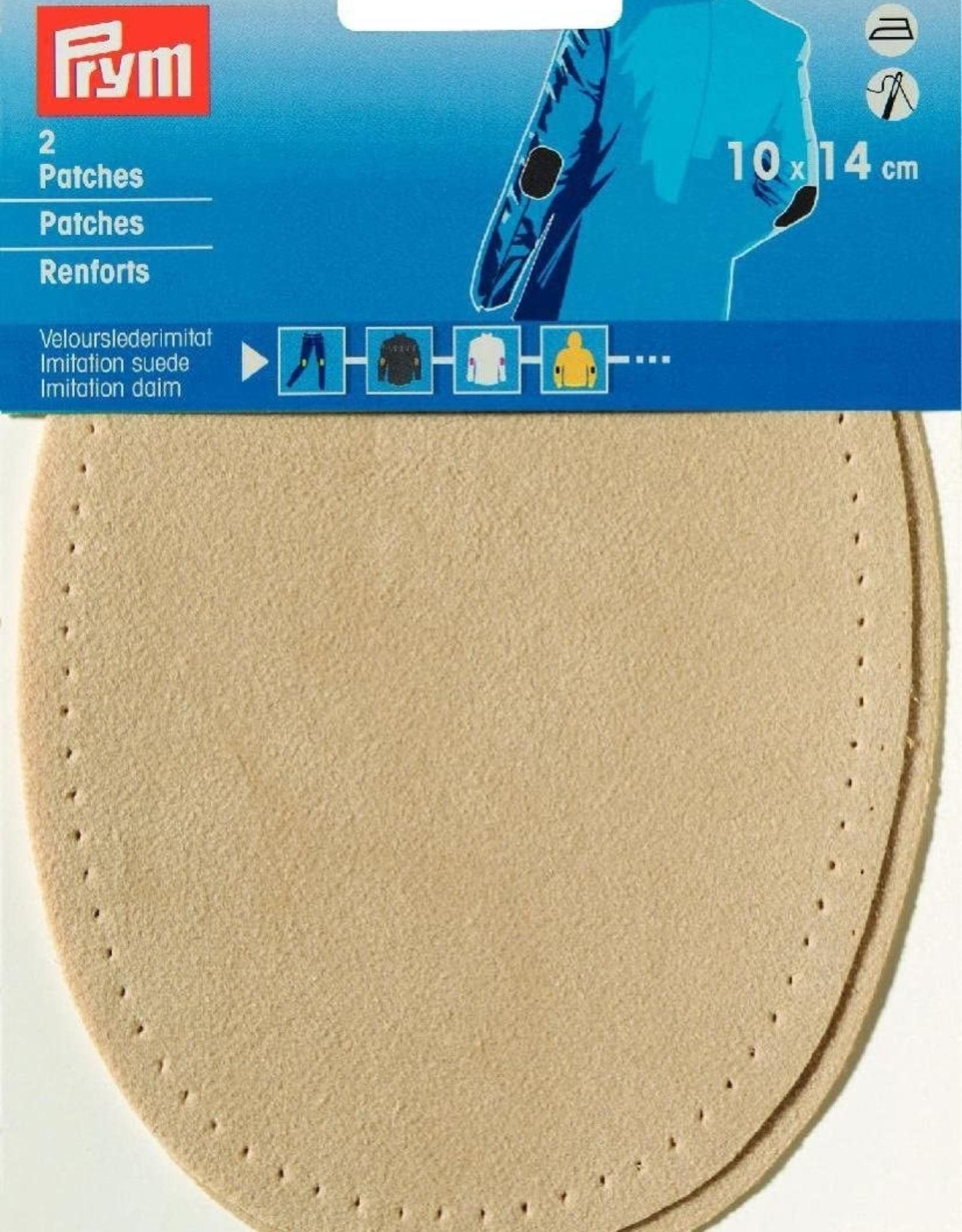 Prym Prym -  patches suedeimitatie 10x14cm lichtbeige - 929 382