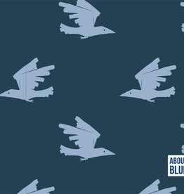 About Blue Fabrics Birds are coming - About Blue