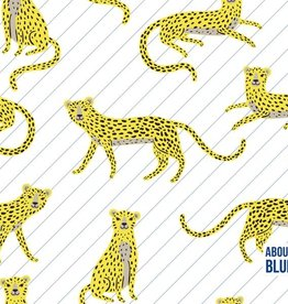 About Blue Fabrics Say Cheetah - About Blue