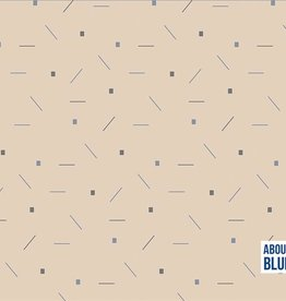 About Blue Fabrics Confetti soft tone - About Blue