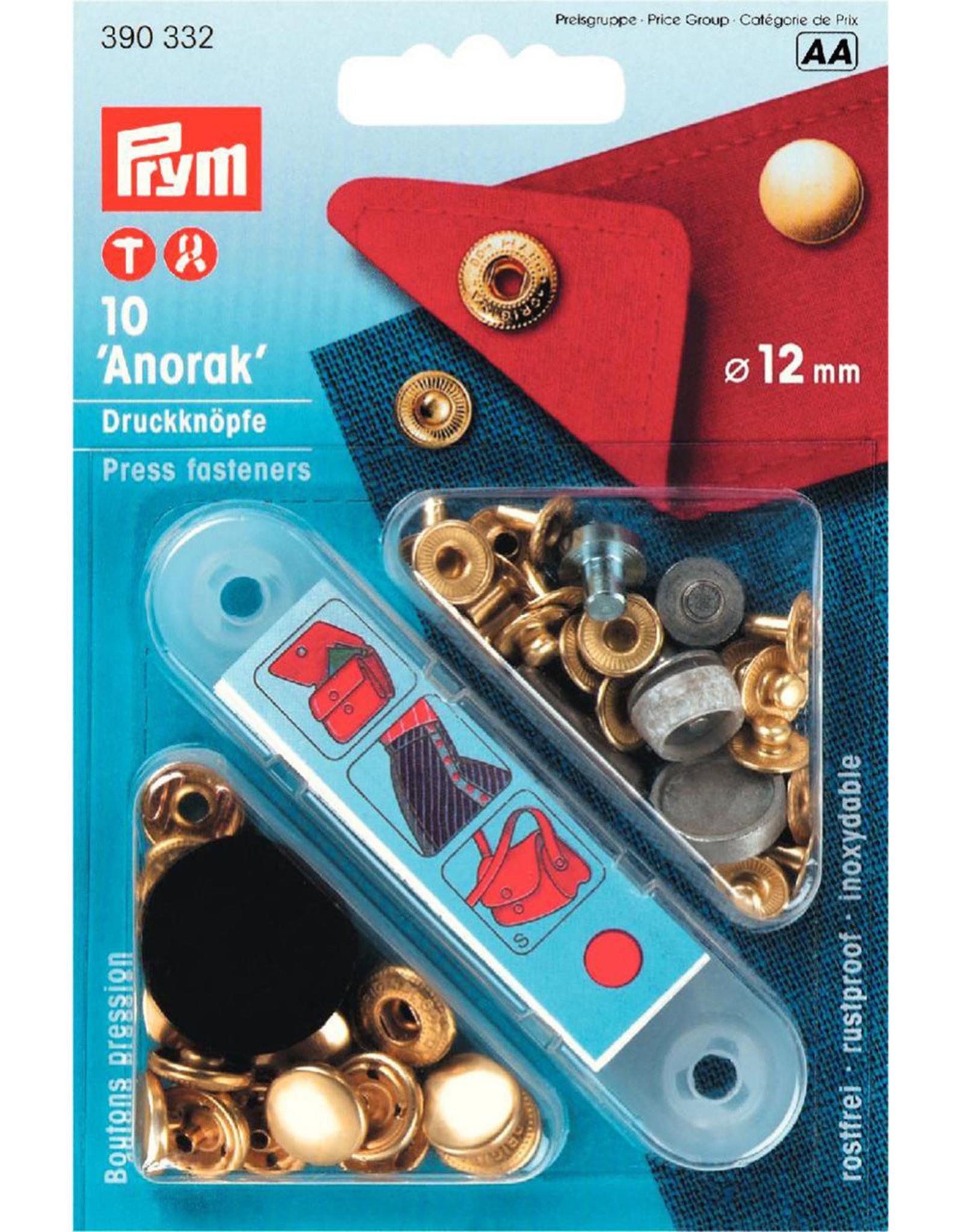Prym Prym - Naaivrije drukknopen Goud 12mm - 390 332