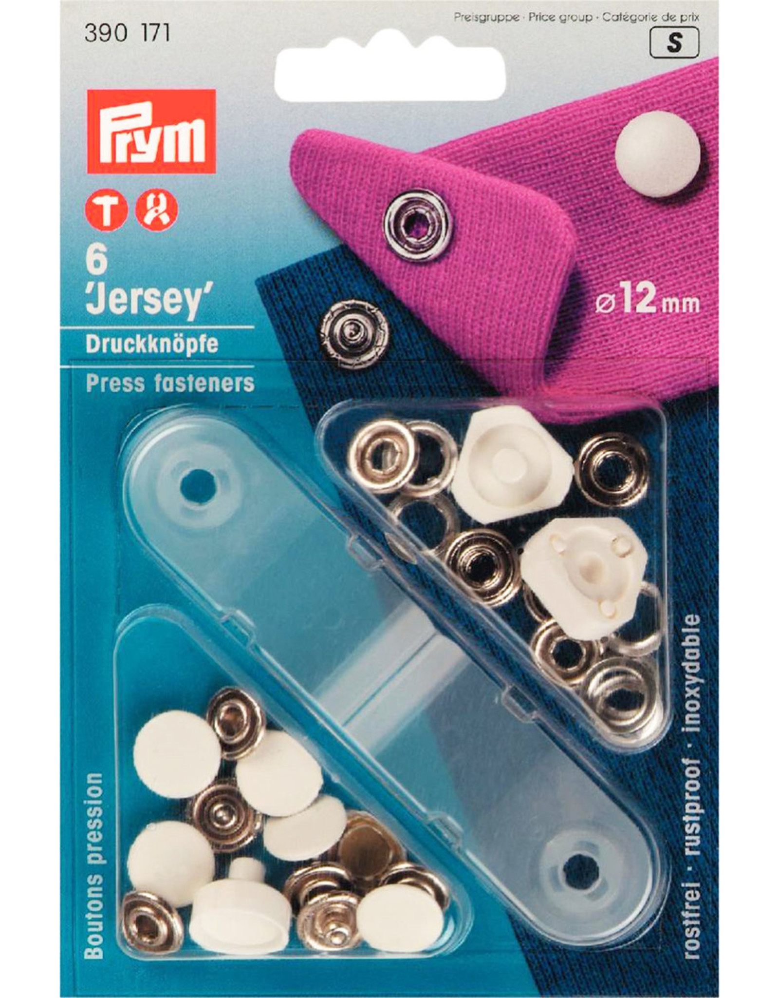 Prym Prym - Naaivrijedrukknopen Wit 12mm - 390 171