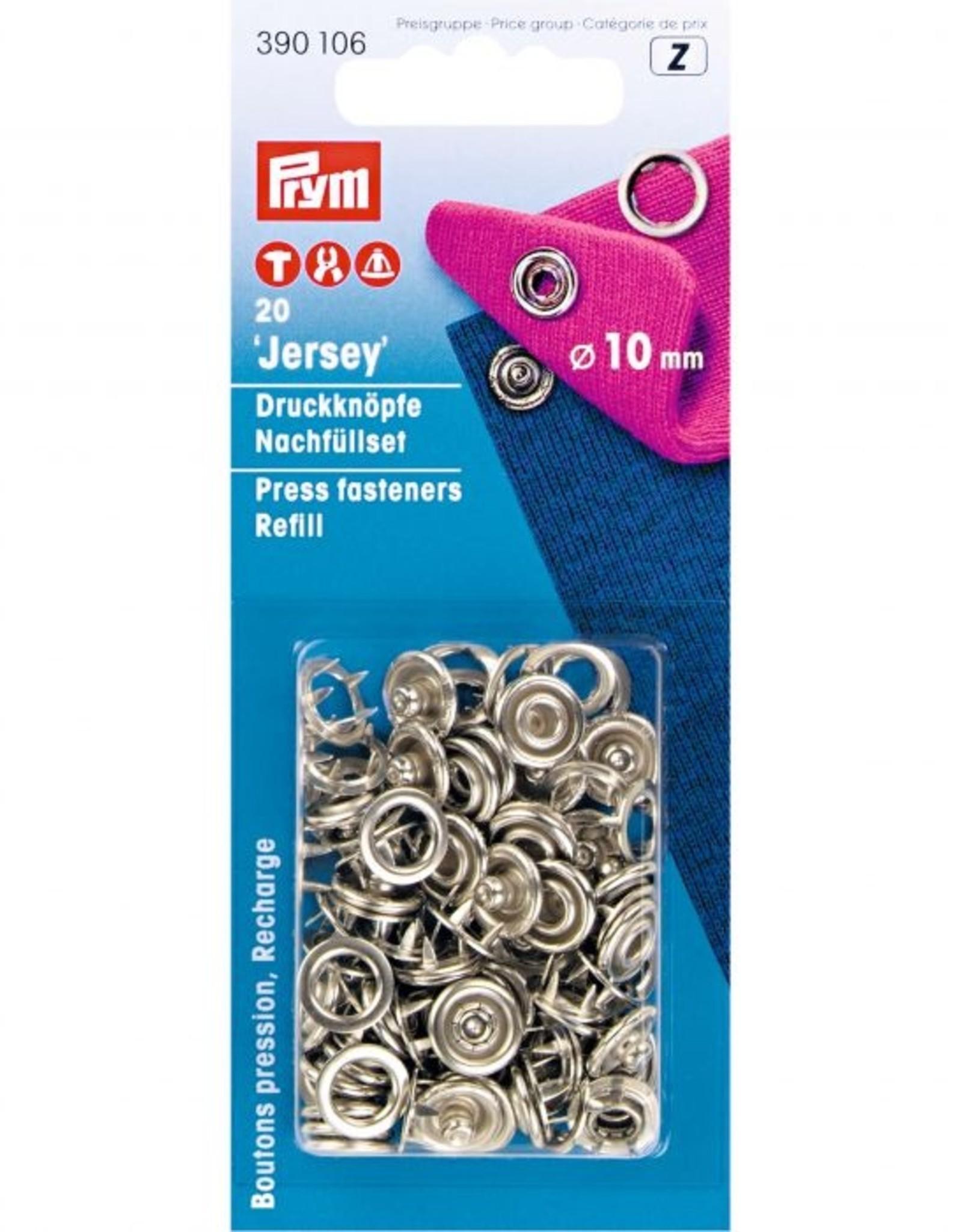 Prym Prym - Navulling 10mm open Zilver - 390 106