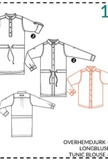 Abacadabra Overhemdjurk, blouse 188 - Abacadabra