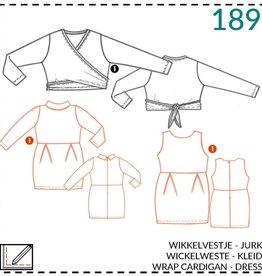 Abacadabra Wikkelvest, jurk 189 - Abacadabra