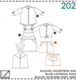 Abacadabra Blouses, salopetjurk, rok 202 - Abacadabra