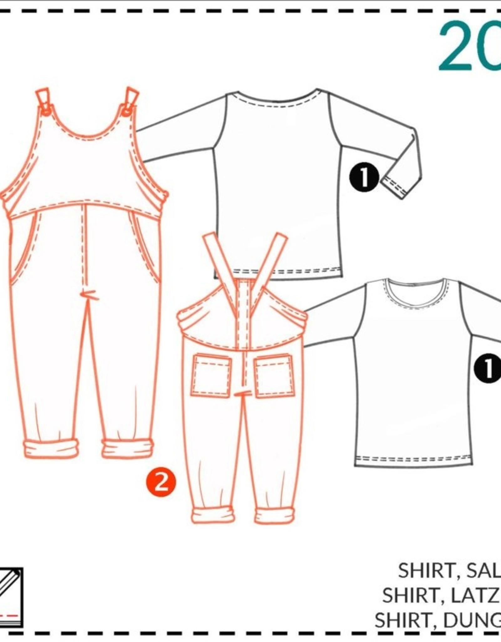 Abacadabra Shirt, salopet 200 - Abacadabra