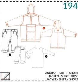 Abacadabra Anorak, shirt, short 194 - Abacadabra