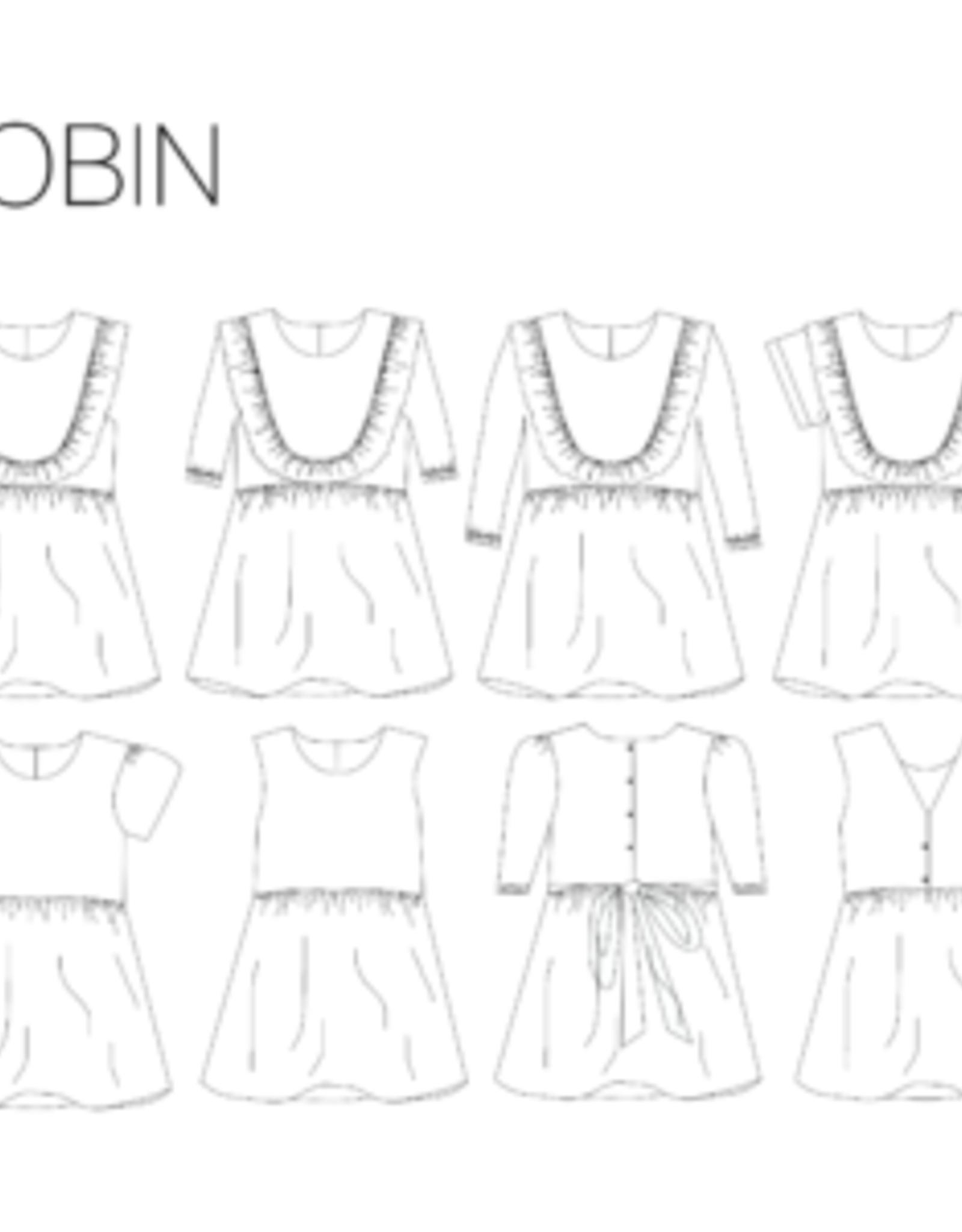 Iris May Robin jurk - Iris May