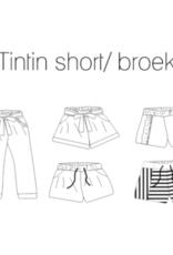 Iris May Tintin short/broek - Iris May