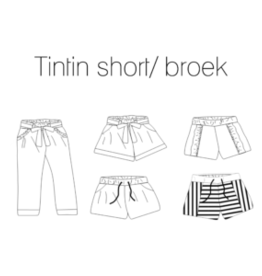 Iris May Tintin short/broek - Iris May