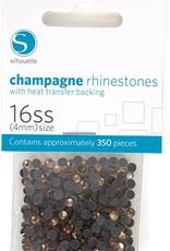 silhouette Silhouette Champagne Rhinestones 4mm