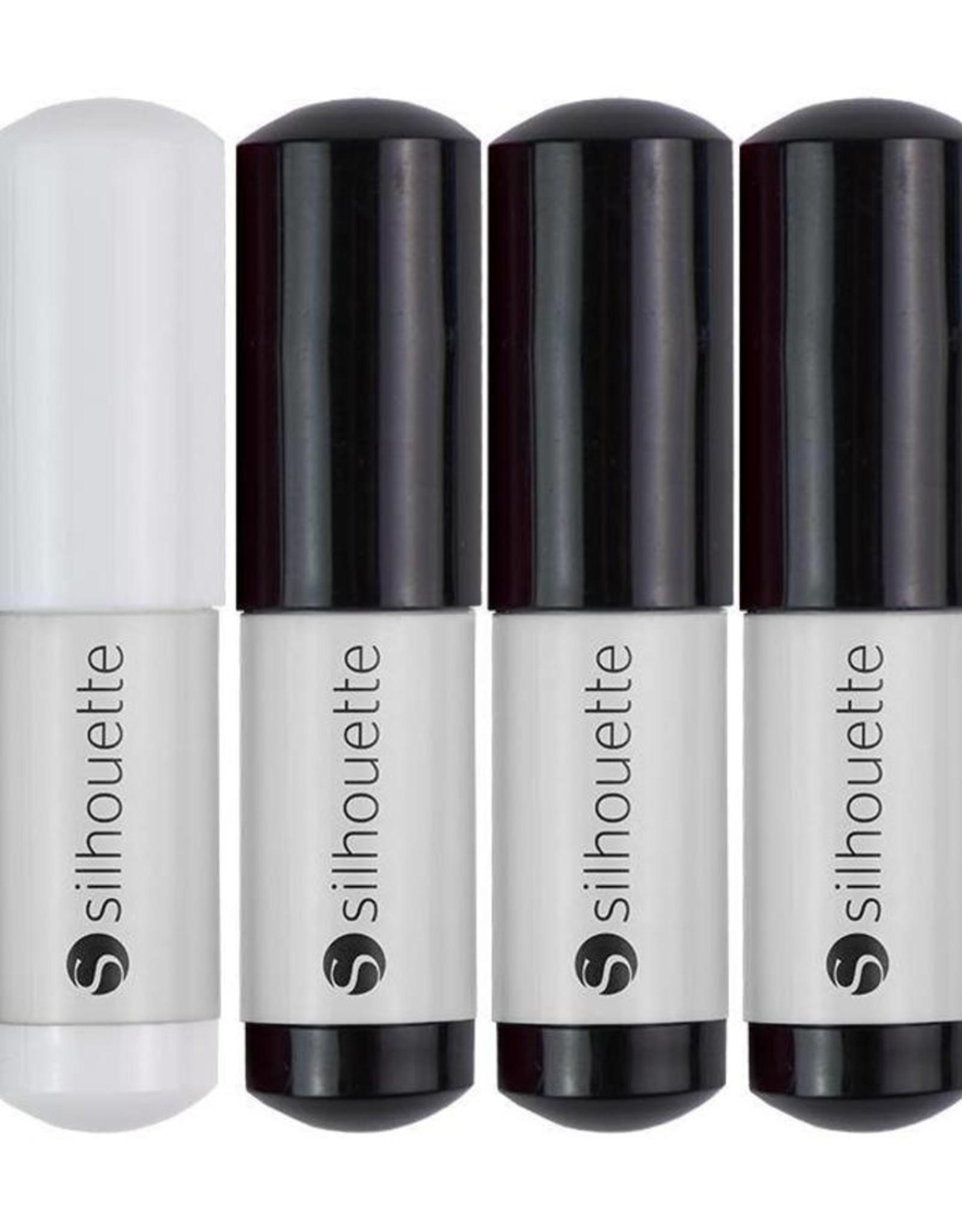 silhouette Silhouette Sketch Pens Black & White