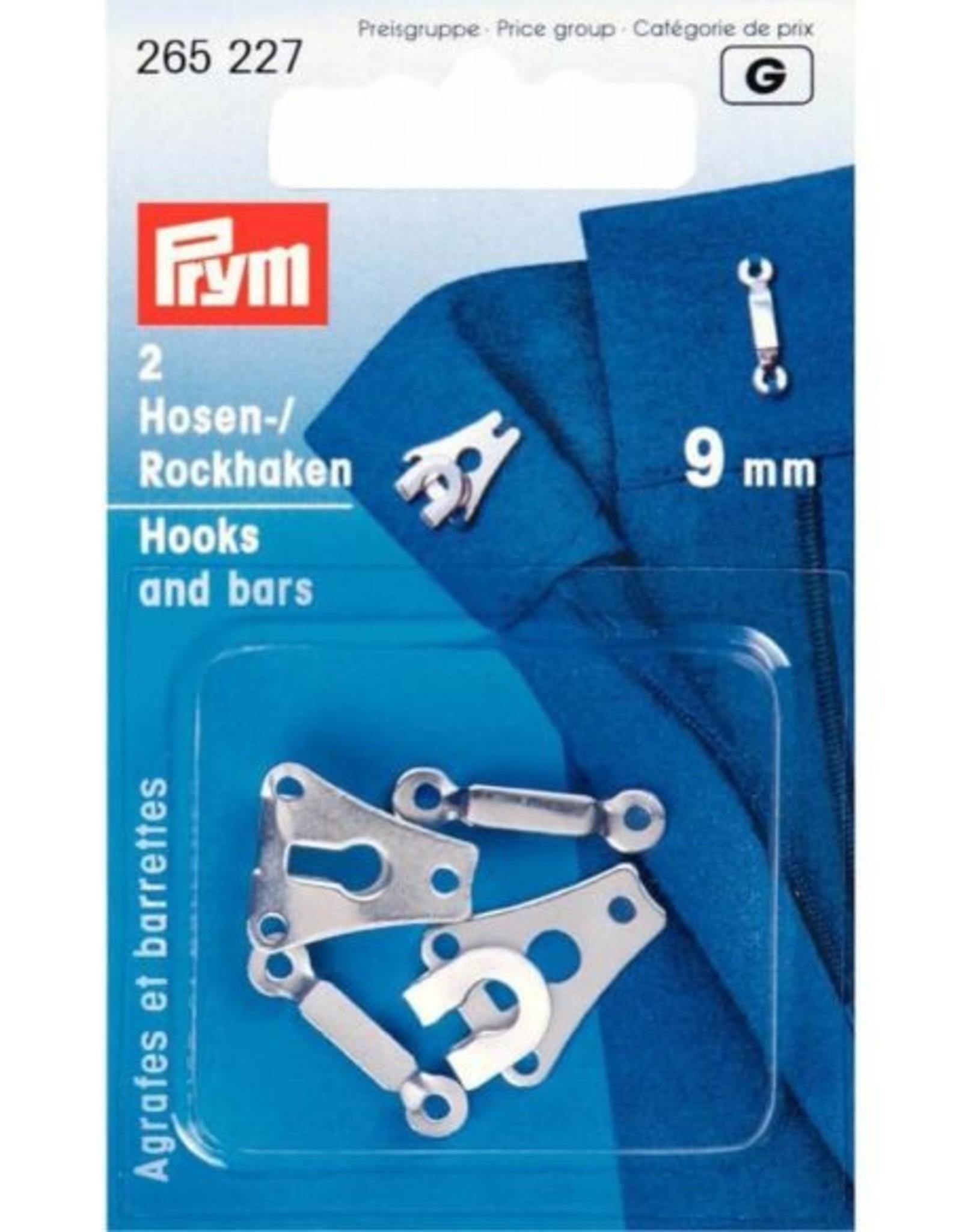 Prym prym - rokhaken zilver 9 mm - 265 227