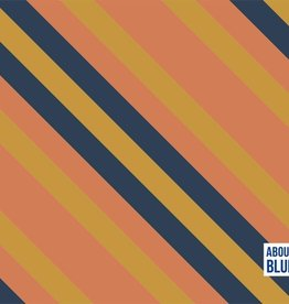 About Blue Fabrics Golden Mean DIA Crepe Viscose - About Blue