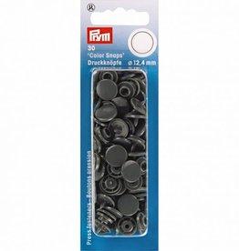 Prym Prym - drukknopen donkergrijs - 393 109