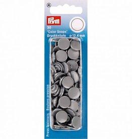 Prym Prym - drukknopen zilver grijs - 393 145