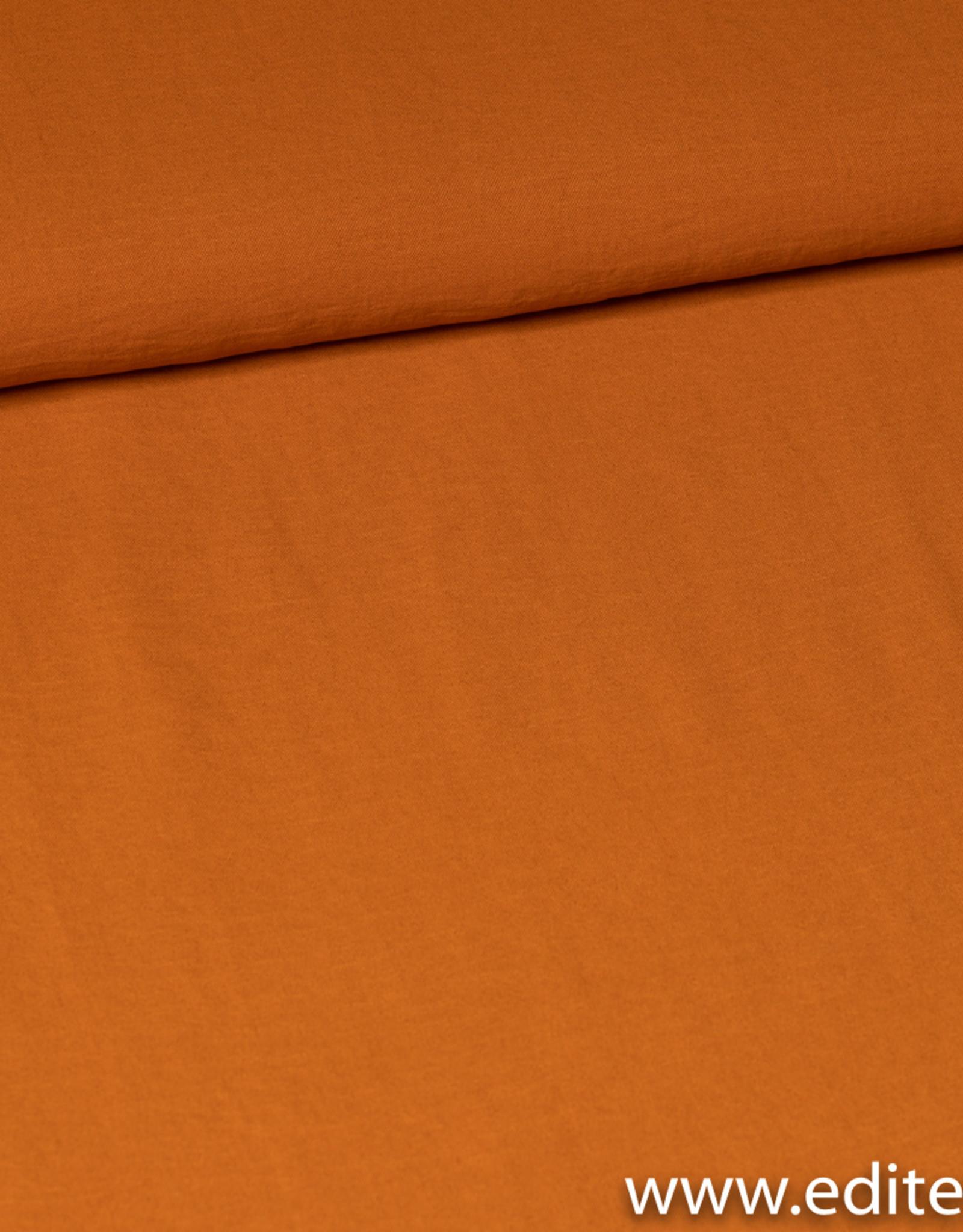 Meet Milk coupon 65x140cm Tencel crepe rust - Meet Milk