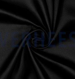 Poppy satijn black zwart