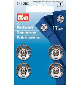 Prym Prym - aannaaidrukknoop 17mm Zilver - 341 253