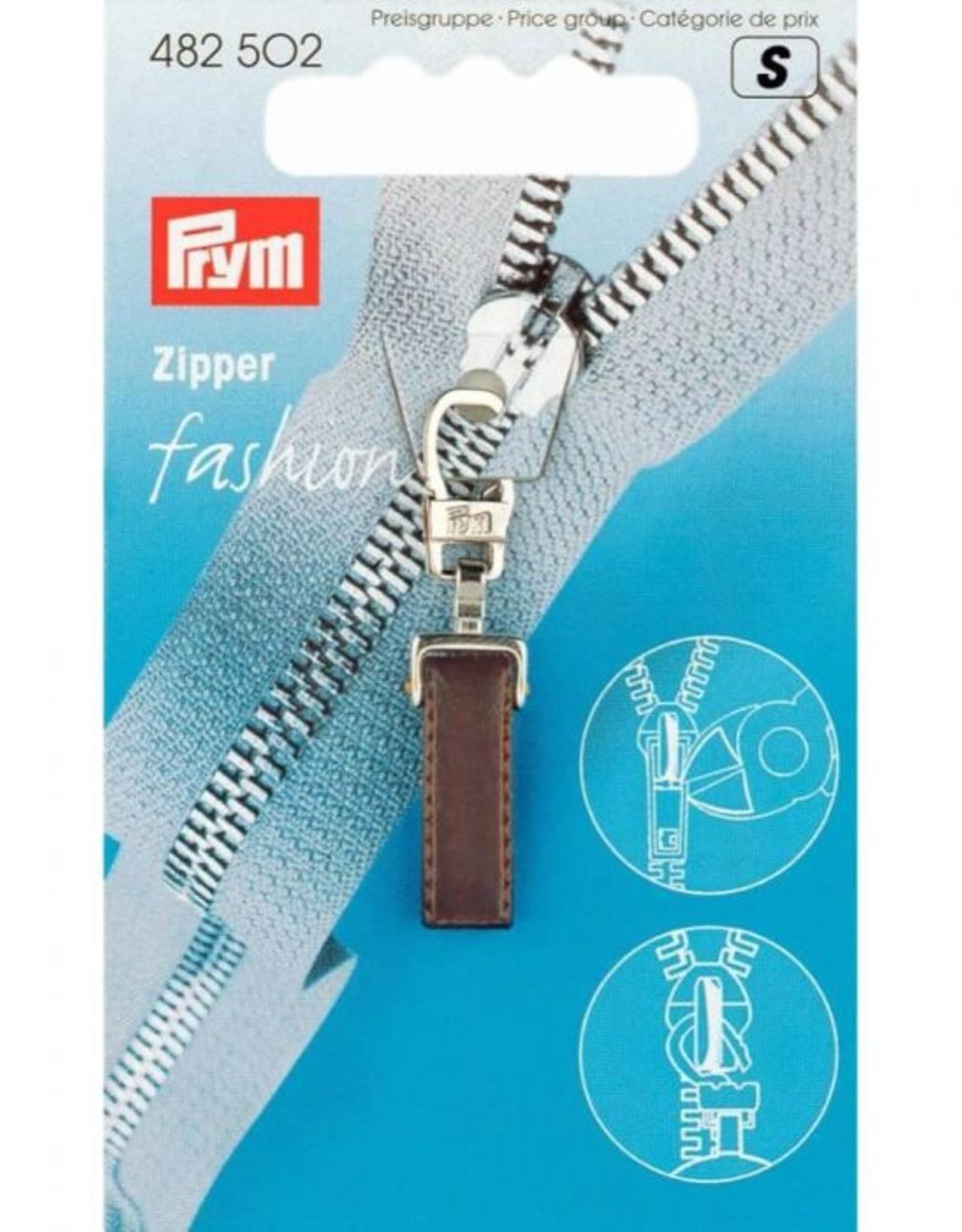 Prym Prym - fashion zipper donker - 482 502
