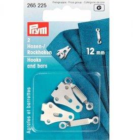 Prym prym - rokhaken zilver 12 mm - 265 225