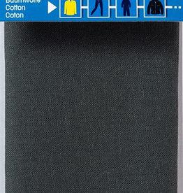 Prym prym - verstelstuk katoen donkergrijs 12x45 cm - 929 403
