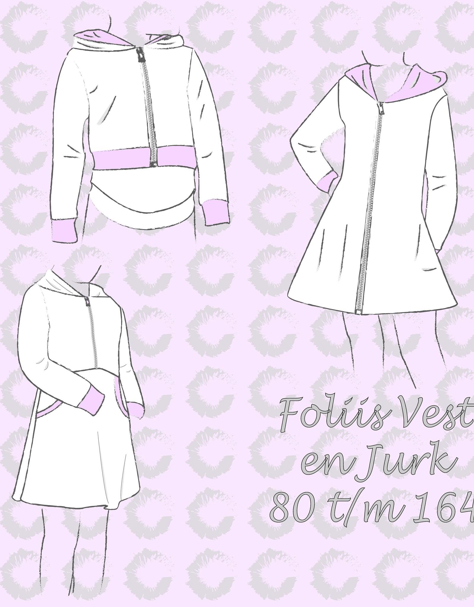 Sofilantjes Foliis vest en jurk - Sofilantjes