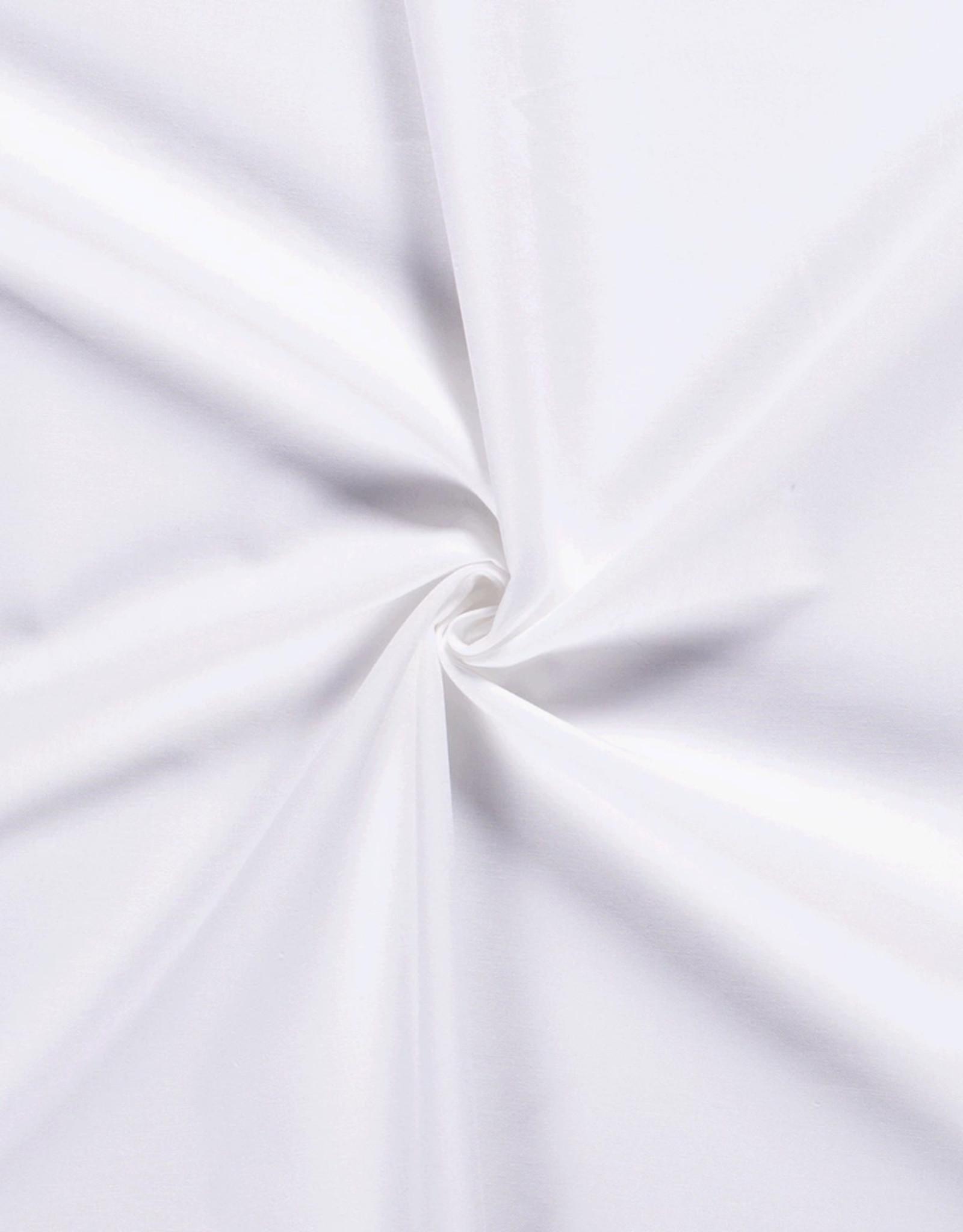 Wit kookwas katoen geschikt voor mondmaskers